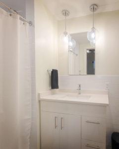 Studio bathroom at 196 Trumbull