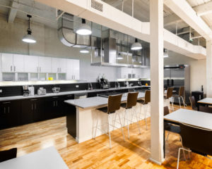 Common kitchen space at 196 Trumbull