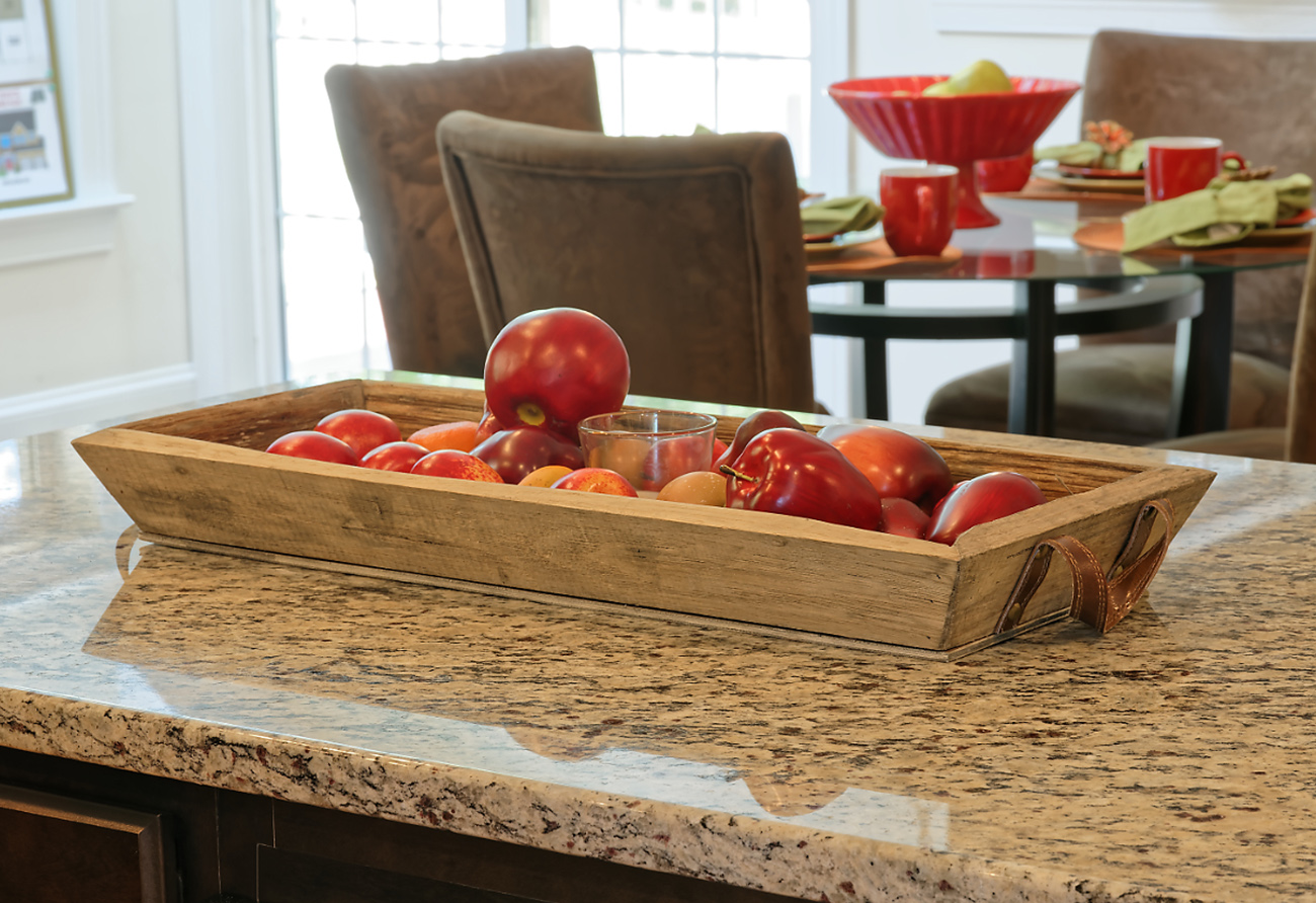 Granite Counters add Style and Durability