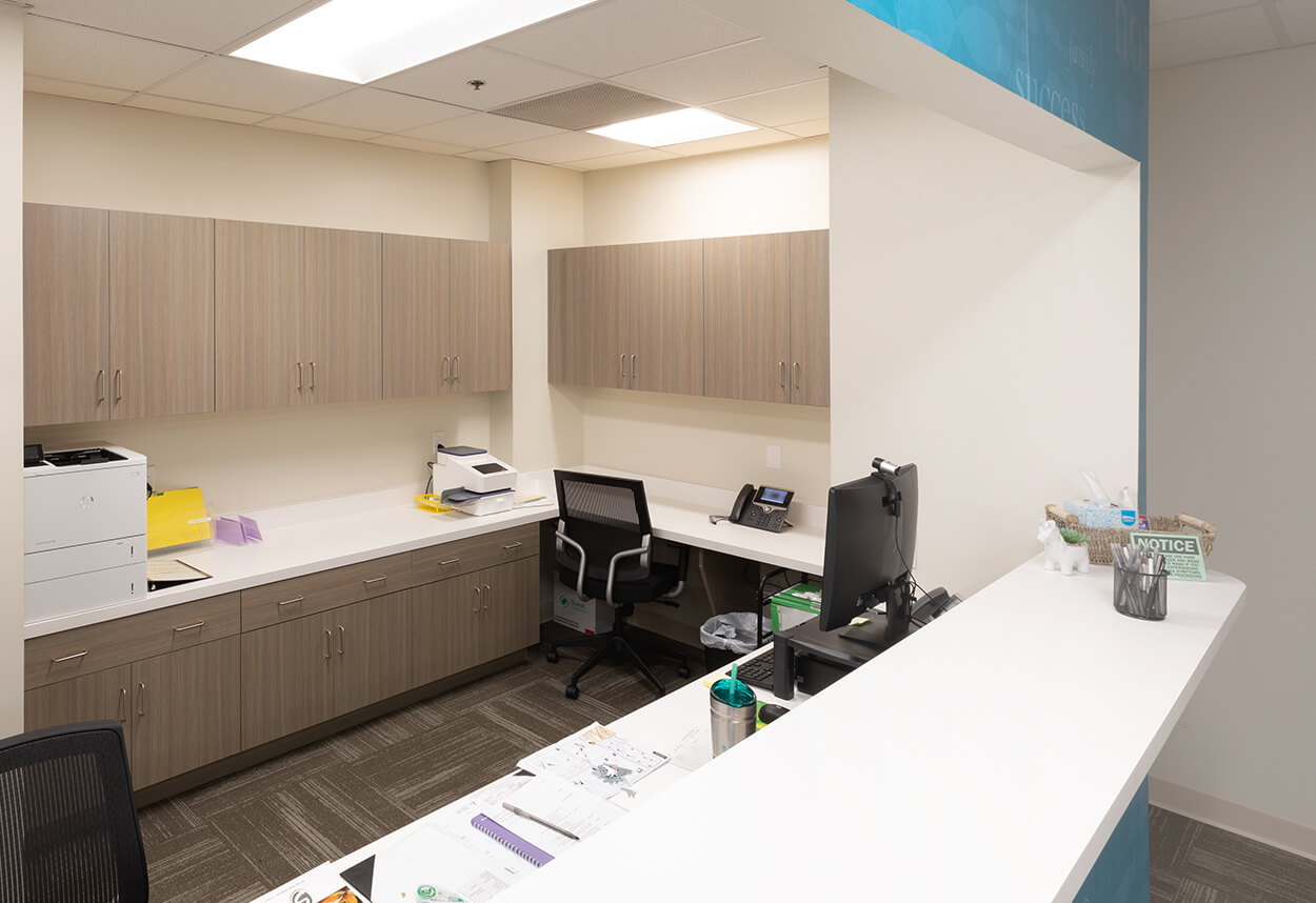 Stony Brook Medical Center – Counter and Front Office.jpg
