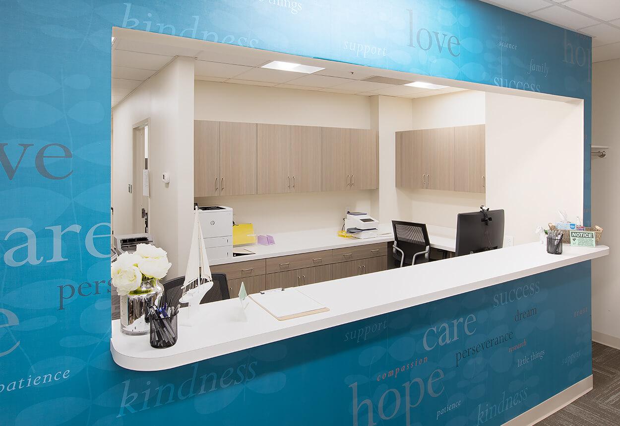 Stony Brook Medical Center – Counter