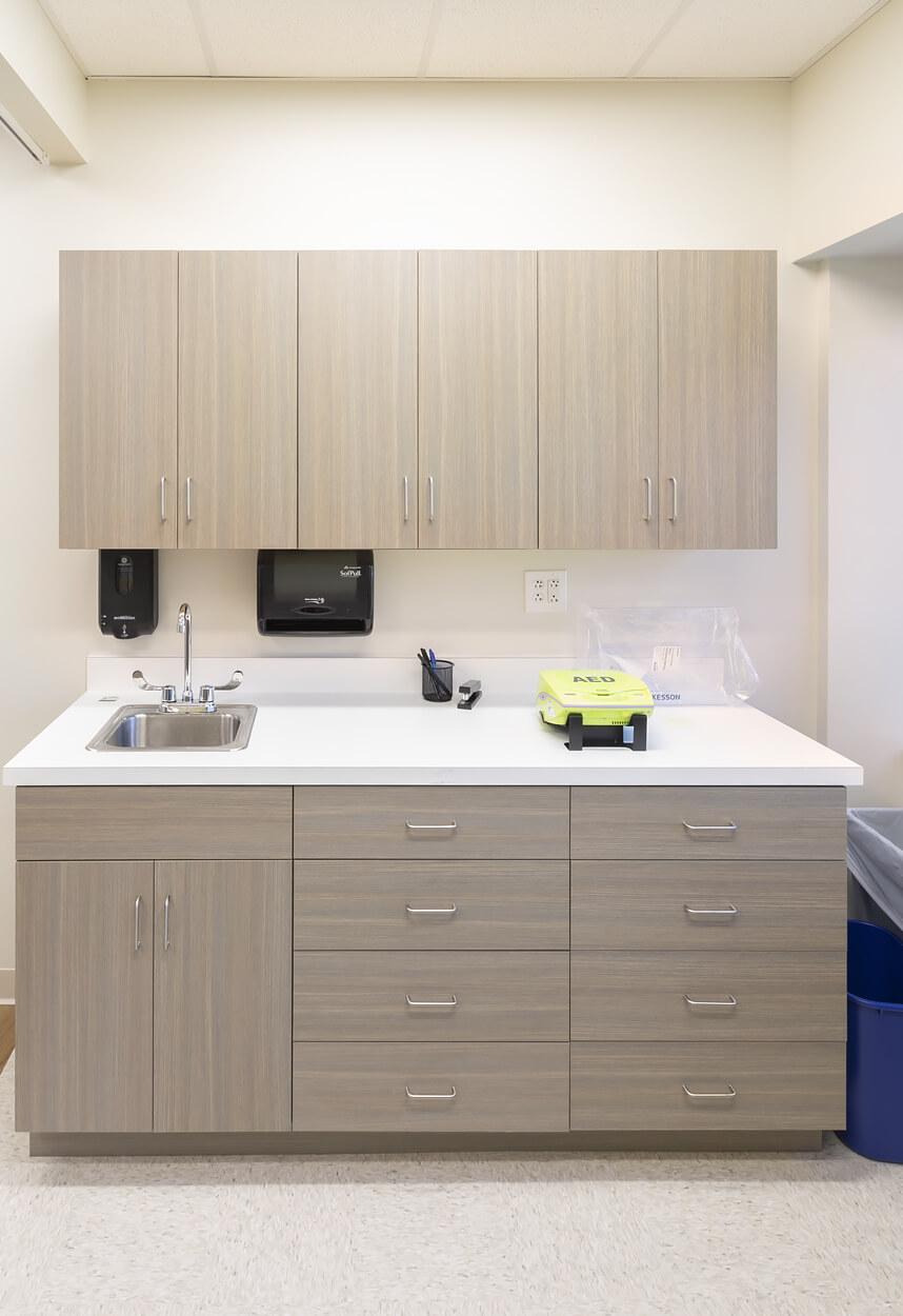 Stony Brook Medical Center – Exam Area