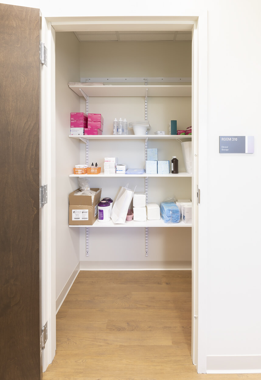 Stony Brook Medical Center – Storage Closet