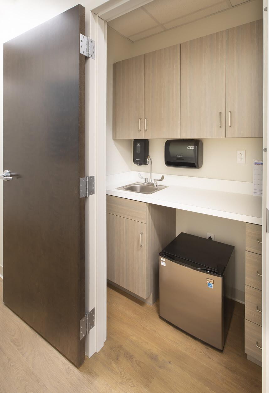 Stony Brook Medical Center – Storage Room